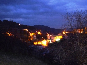 Momchilovtsi in the late evening
